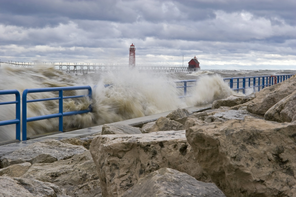 Water's Rage - Grand Haven, Michigan